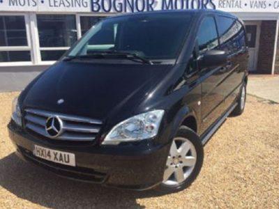 2014(14) Mercedes Vito 2.1 116cdi Dual Liner Sport Swb Kombi Van